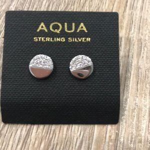 Aqua Jewelry - Sterling silver studs